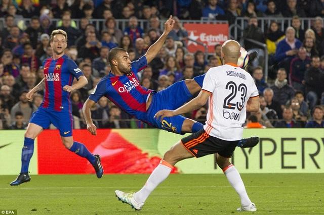 Barcelona thắng Valencia với tổng tỷ số 7-4 tại La Liga năm nay