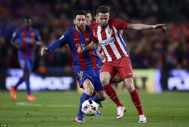 Messi luôn có duyên ghi bàn khi gặp Atletico