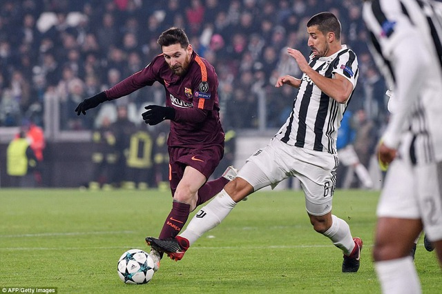 Messi vào sân ở hiệp 2 nhưng không để lại nhiều dấu ấn