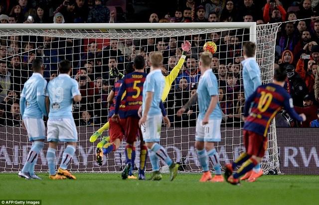 Messi luôn biết cách tỏa sáng khi đối đầu Celta Vigo