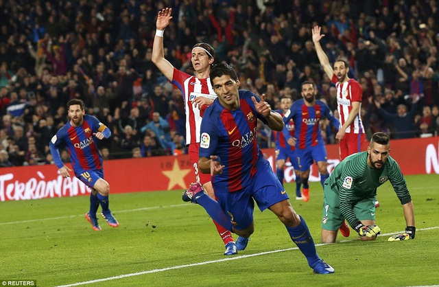 Những trận chiến Barcelona-Atletico luôn diễn ra đầy quyết liệt