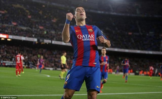 Luis Suarez đã tìm lại được cảm giác ghi bàn