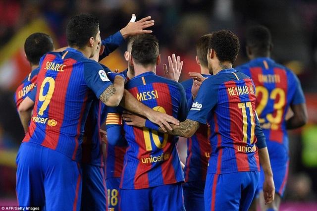 Barcelona dần lấy lại được sự ổn định sau cú sốc thua Paris Saint Germain