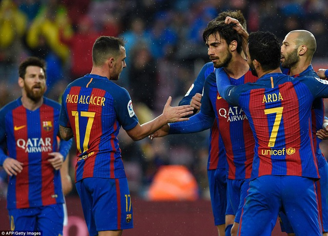 Barcelona dễ dàng vùi dập Osasuna với tỷ số 7-1