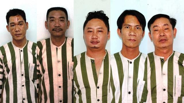 5 nghi can bị tạm giữ