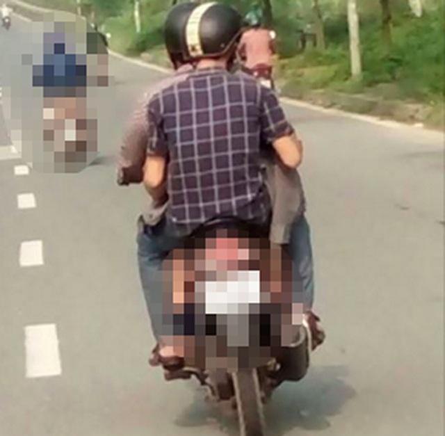 Cả hai bế đứa bé chạy khoảng 40km thì bị công an đón lõng bắt giữ (ảnh minh họa)