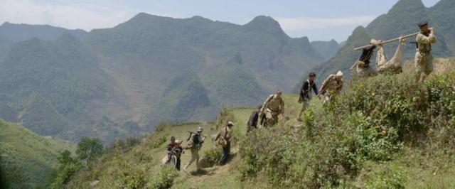 Những cảnh quay của phim được thực hiện ở vùng núi phía Bắc - Việt Nam. Ảnh: TL.