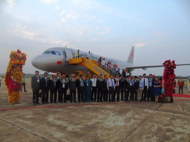 Trước đó vào ngày 29/4 Quảng Bình cũng đã đưa vào khai thác đường bay Đồng Hới – Hải Phòng.