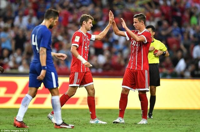 Bayern Munich giành chiến thắng với tỷ số 3-2 trước Chelsea