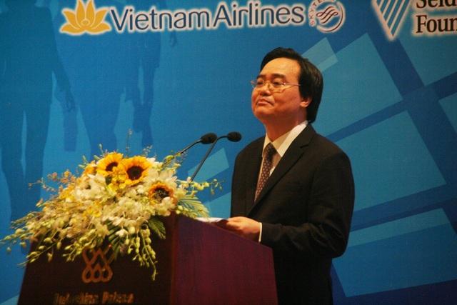 Bộ trưởng Bộ GD-ĐT Phùng Xuân Nhạ cho biết sẽ tham khảo để áp dụng, triển khai trong điều kiện thực tiễn của Việt Nam từ những kết quả hội nghị ASEM