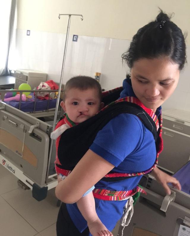 Bé N.Q (7 tháng tuổi) khi nhập viện nặng 7 kg