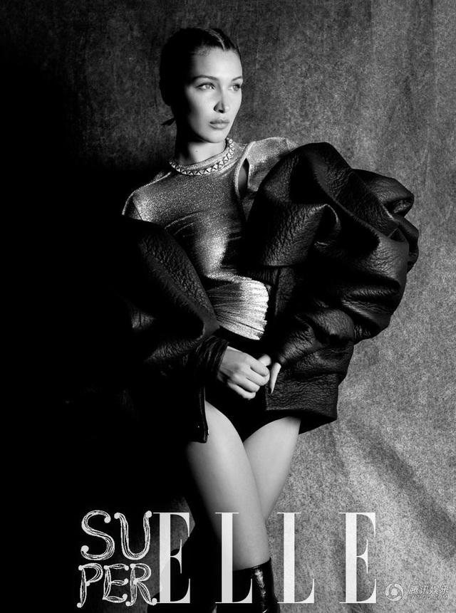 Siêu mẫu Bella Hadid khoe đường cong tuyệt mỹ - 4