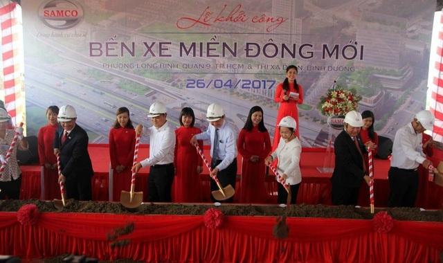 Lễ khởi công bến xe Miền Đông mới