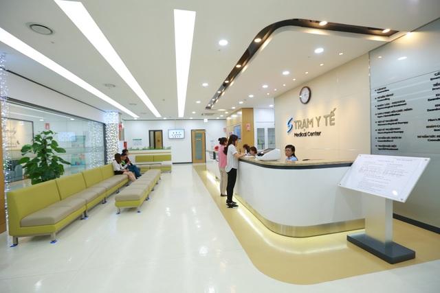 Trạm y tế dành cho toàn bộ nhân viên nhà máy.