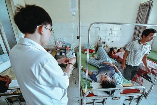 BV Bệnh nhiệt đới dành trọn cơ sở 1 ở Phương Mai điều trị bệnh nhân SXH. Ảnh: Toàn Vũ.