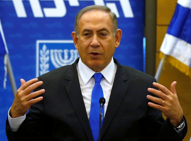 Thủ tướng Israel Benjamin Netanyahu (Ảnh: Reuters)