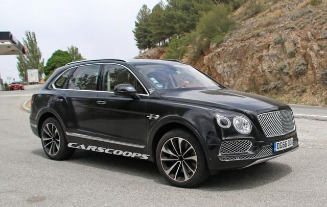 Bentayga sẽ là xe hybrid đầu tiên của Bentley - 8
