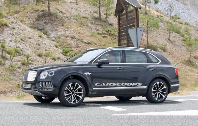 Bentayga sẽ là xe hybrid đầu tiên của Bentley - 2