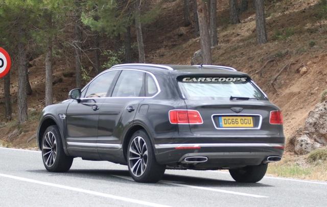 Bentayga sẽ là xe hybrid đầu tiên của Bentley - 5