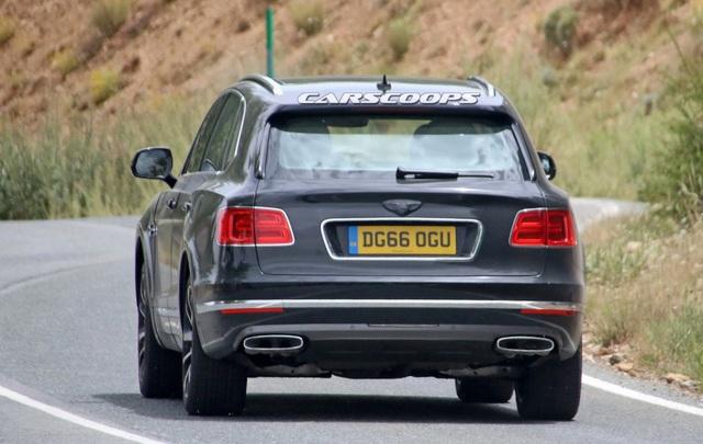 Bentayga sẽ là xe hybrid đầu tiên của Bentley - 6