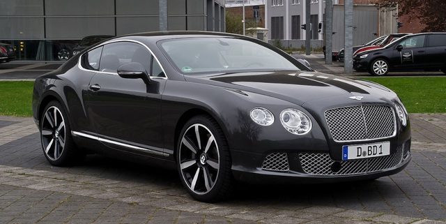 4. Bentley Continental GT