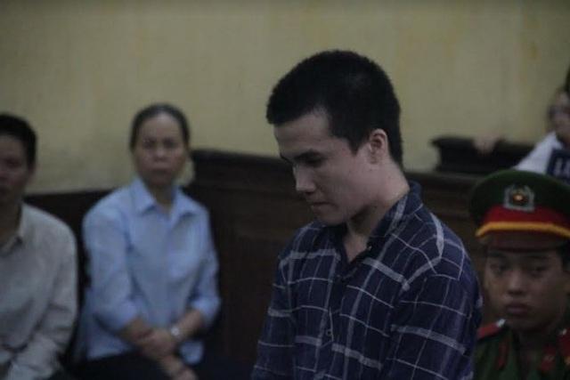 Bị cáo Lộc tại tòa