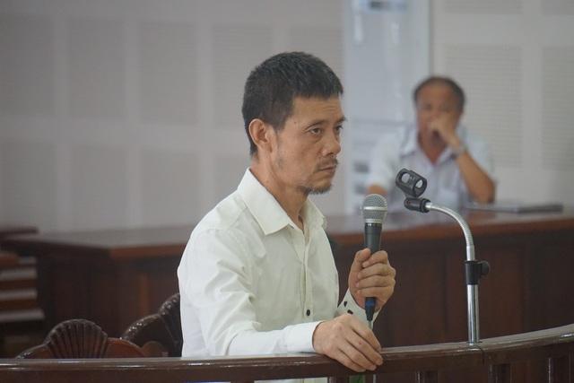 Bị cáo Wang Qing Jian tại phiên tòa