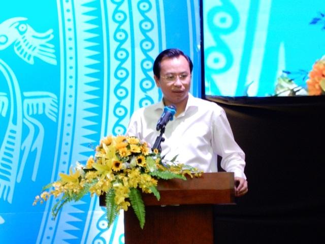 Bí thư Nguyễn Xuân Anh phát biểu tại hội nghị