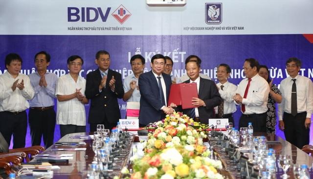 BIDV và VINASME ký thỏa thuận hợp tác giai đoạn 2017-2022 - 1
