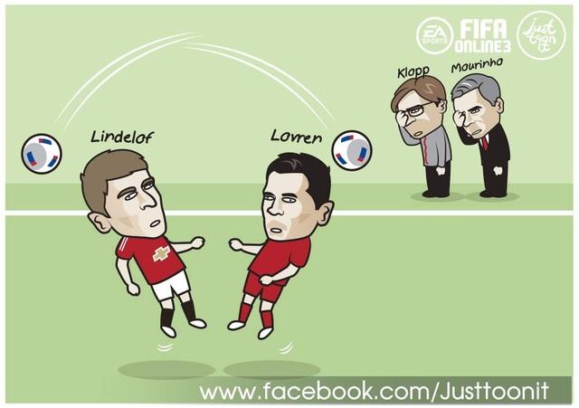 Lindelof và Lorven, hai tội đồ của M.U và Liverpool