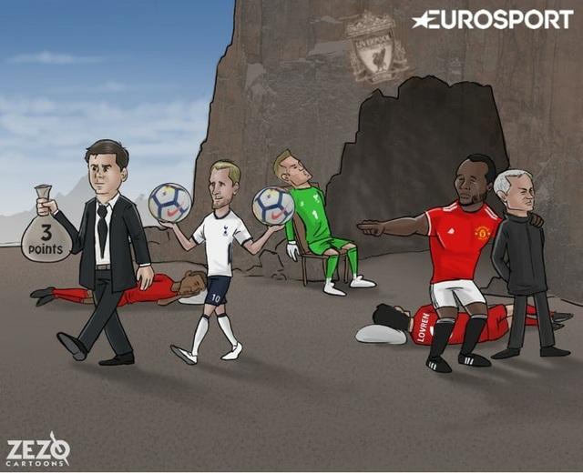 Tottenham khiến Liverpool ôm hận