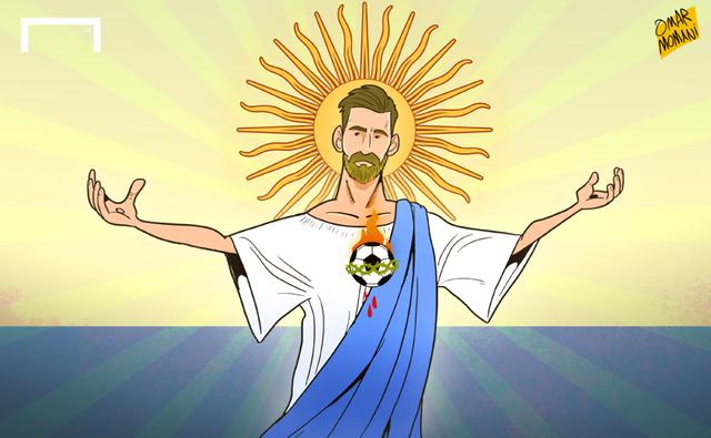 Đấng cứu thế Messi của những người Argentina
