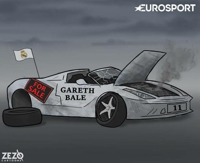 Siêu xe Gareth Bale hỏng hóc quá nhiều, tới mức không thể sửa chữa