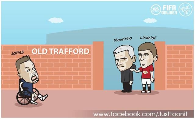 Mourinho đón thương binh trở về từ đợi tập trung ĐTQG. Lindelof nịnh thày để thi đấu