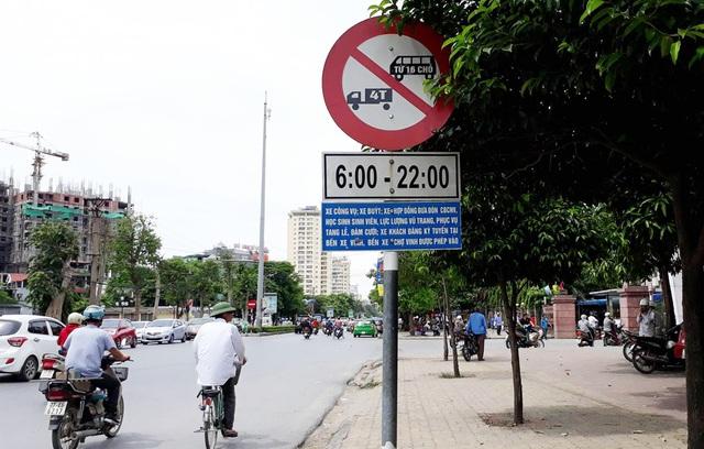 Biển báo 106b theo Quyết đinh số 10 năm 2016 của UBND tỉnh Nghệ An đã từng gây tranh cãi
