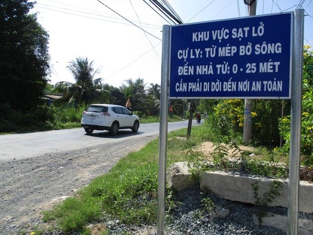Trước mắt chính quyền địa phương rải đá cặp quốc lộ 30 (những chỗ gần điểm sạt lở) để người dân và phương tiện lưu thông thuận lợi hơn