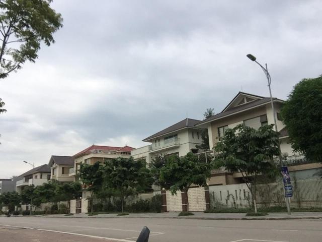 6 lô biệt thự quan chức nằm ở khu đất vàng tại TP Lào Cai.