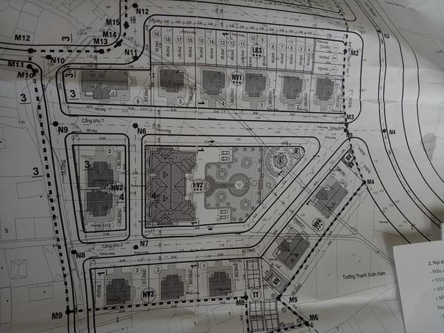 Sơ đồ quy hoạch của căn nhà