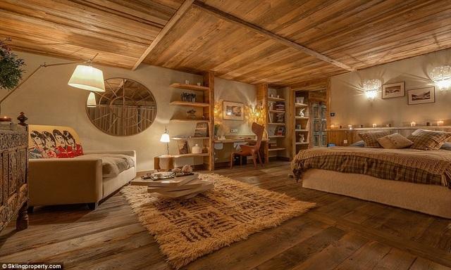 Có gì bên trong biệt thự gỗ giá 8 triệu USD trên núi tuyết An-pơ - 5