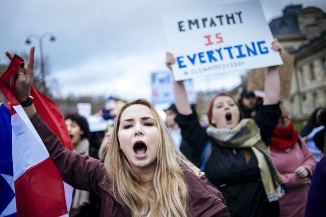 Nhiều người cáo buộc rằng sắc lệnh của ông Trump cho thấy sự kỳ thị chủng tộc (Ảnh: Reuters)