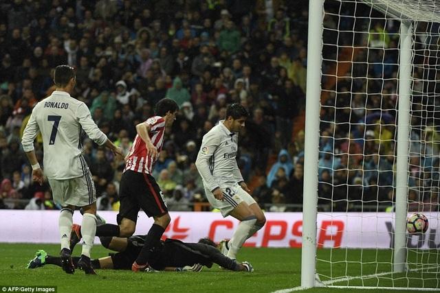 Real Madrid luôn gặp khó khăn khi đối đầu Bilbao