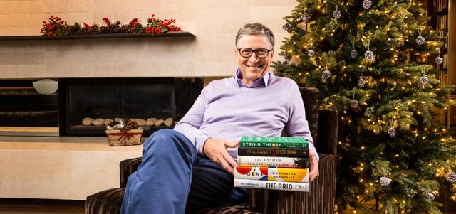 Tỷ phú Bill Gates giới thiệu những cuốn sách ông yêu thích nhất trong năm 2016. (Nguồn: Gates Notes)
