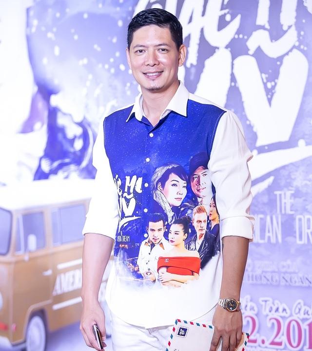 Bình Minh trong sự kiện ra mắt phim tối qua.