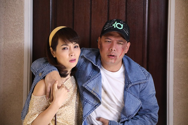Trong Giấc mơ Mỹ, Mai Thu Huyền và Bình Minh là cặp đôi ăn ý.