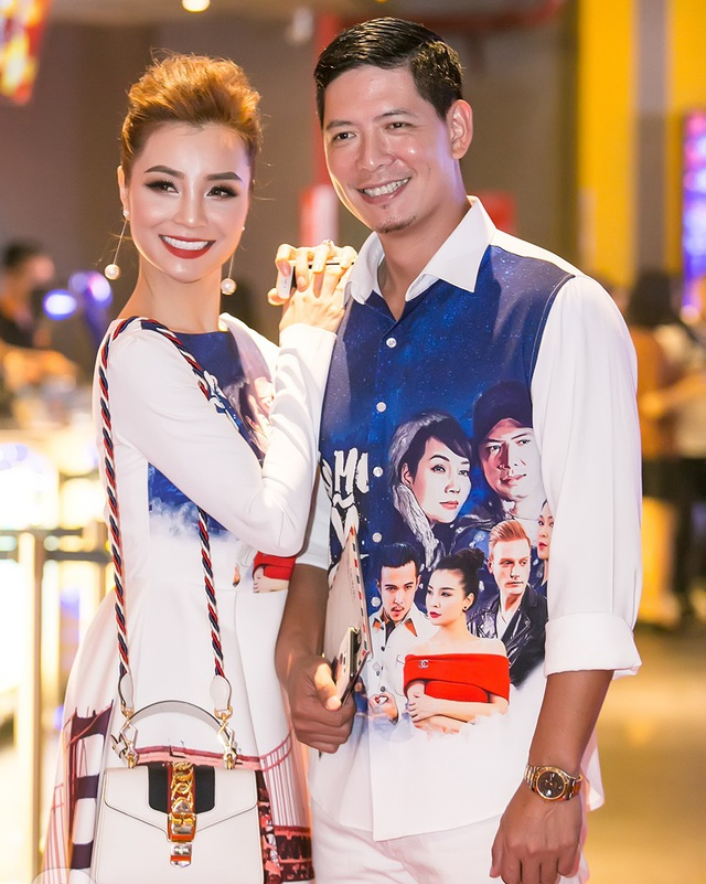 Bình Minh và diễn viên Mai Thu Trang.