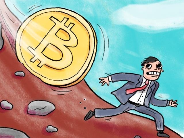 Bitcoin bắt đầu bước đầu vào đà giảm, hay bong bóng đã vỡ?