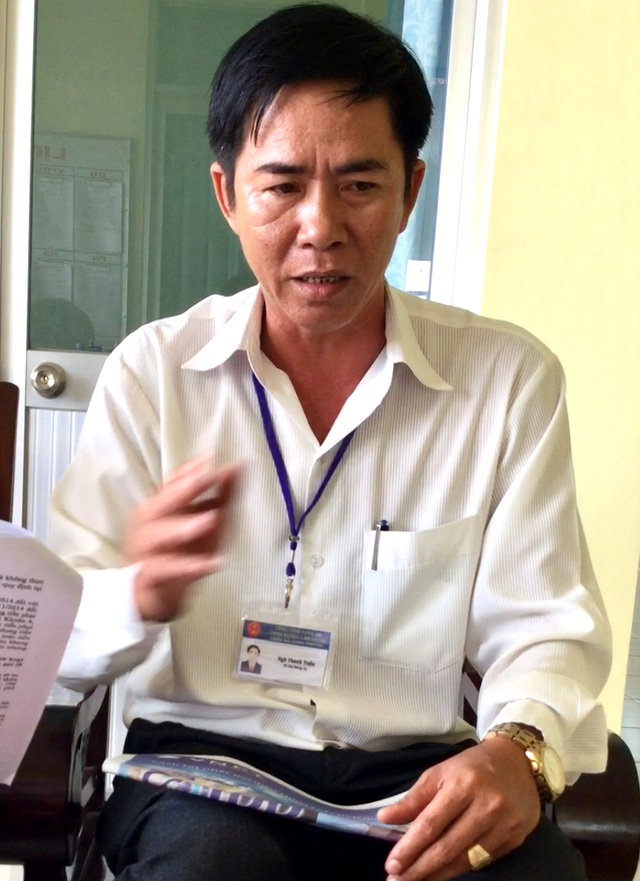 Ông Ngô Thanh Tuấn, Bí thư Đảng uỷ kiêm Chủ tịch UBND xã Long Thượng khẳng định sẽ mạnh tay xử lý các điểm phân lô, xây dựng sai phạm.