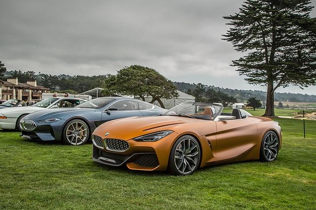 BMW Z4 concept xuất hiện tại sự kiện xe sang Pebble Beach (California - Mỹ) hồi tháng 8 vừa qua.