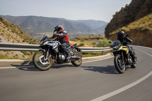 BMW tung bộ đôi Adventure cỡ trung F750 GS và F850 GS - 1