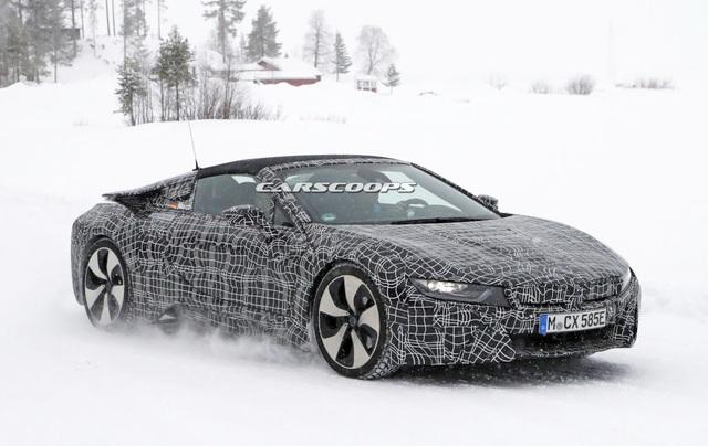 BMW i8 Spyder xuất hiện trên đường thử - 2